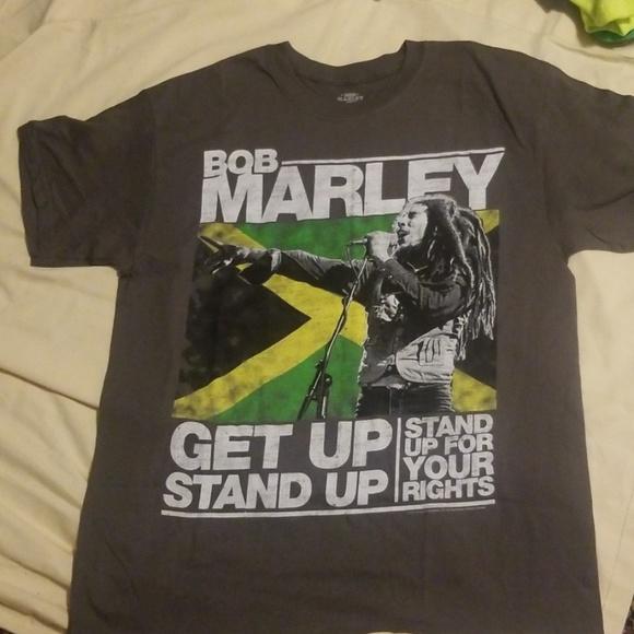 57564aca24a bob Marley Other - Authentic Bob Marley Grey Tee Shirt Size Large